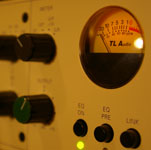 VU meter on a TLA5051 channel strip